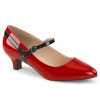 FAB-425 Red/Black Patent